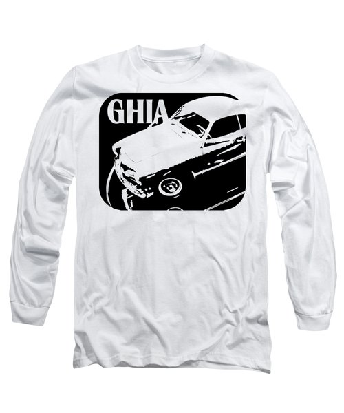 1962 Karmann Ghia Pop Art Tee Long Sleeve T-Shirt