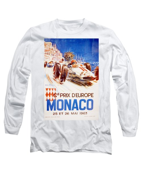 1963 F1 Monaco Grand Prix  Long Sleeve T-Shirt