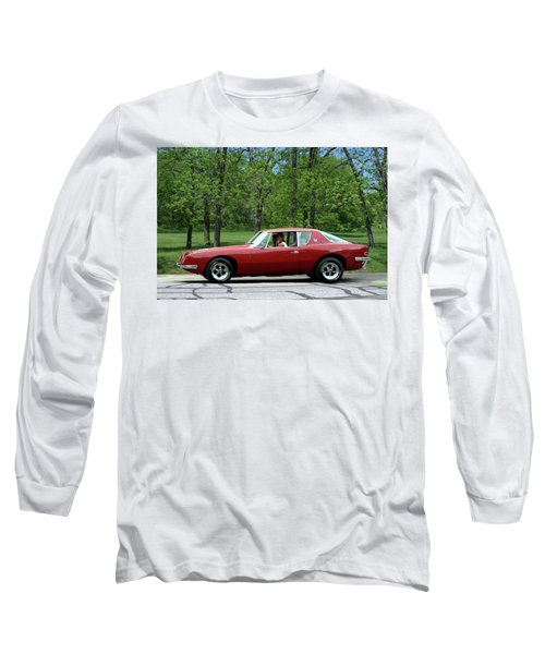 1963 Studebaker Avanti Coupe Long Sleeve T-Shirt by Tim McCullough