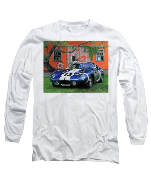 Long Sleeve T-Shirt featuring the photograph 1964 Cobra Daytona Coupe by Christopher McKenzie