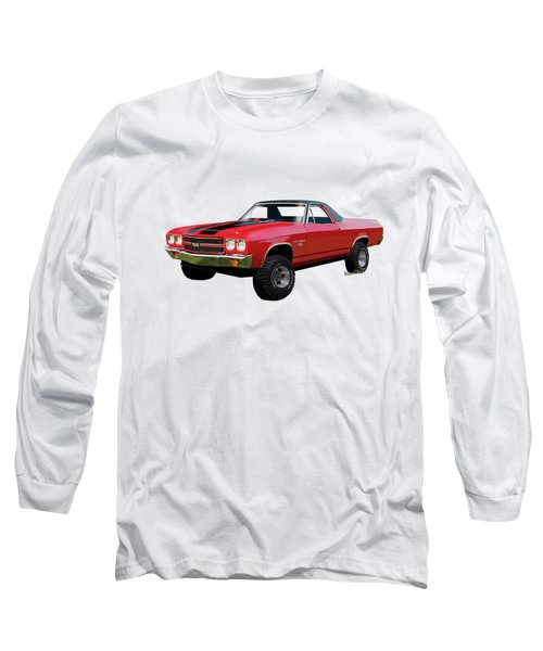 1970 Chevy El Camino 4x4 Not 2nd Generation 1964-1967 Long Sleeve T-Shirt