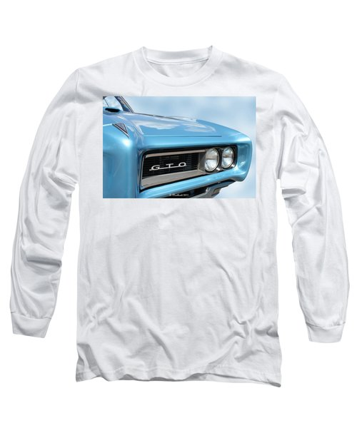 1968 Pontiac Gto Long Sleeve T-Shirt