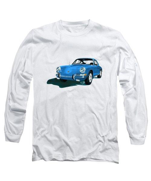 Porsche 911 1968 Long Sleeve T-Shirt by Jack Pumphrey