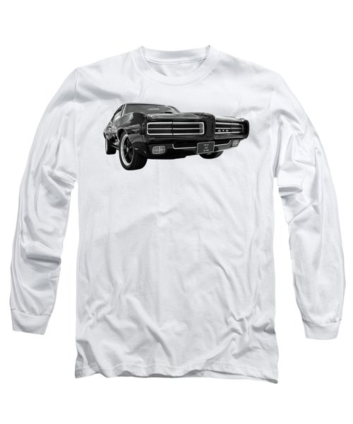 Long Sleeve T-Shirt featuring the photograph 1969 Pontiac Gto The Goat by Gill Billington