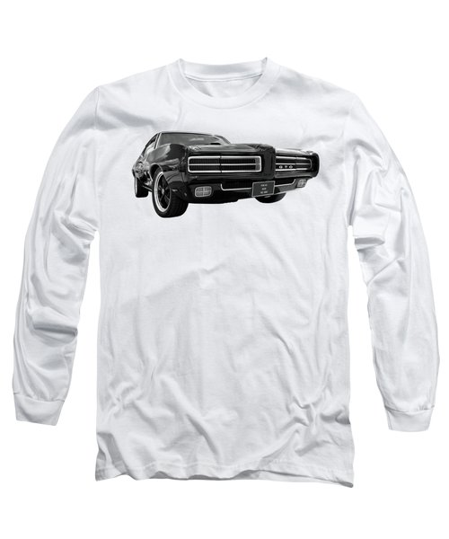 1969 Pontiac Gto The Goat Long Sleeve T-Shirt