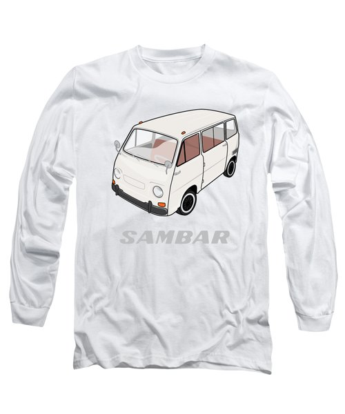 1970 Subaru Sambar Van Long Sleeve T-Shirt