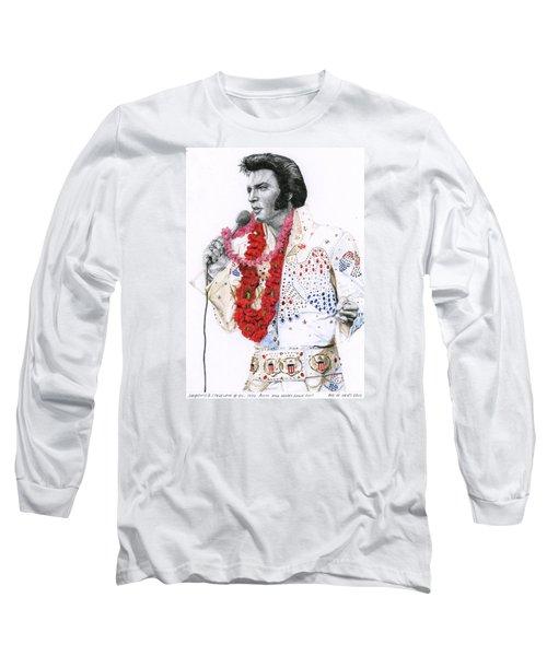 1973 Aloha Bald Headed Eagle Suit Long Sleeve T-Shirt