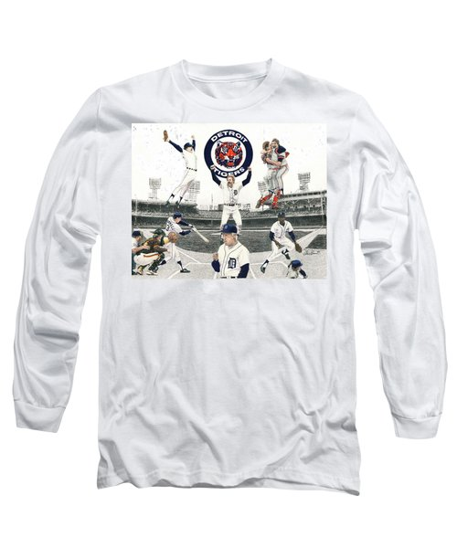 1984 Detroit Tigers Long Sleeve T-Shirt