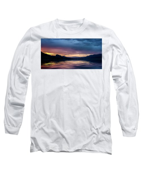 Long Sleeve T-Shirt featuring the photograph Across The Clouds I See My Shadow Fly by John Poon