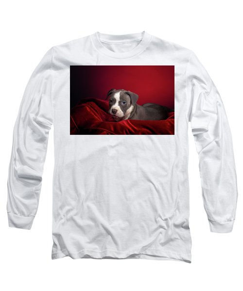 American Pitbull Puppy Long Sleeve T-Shirt