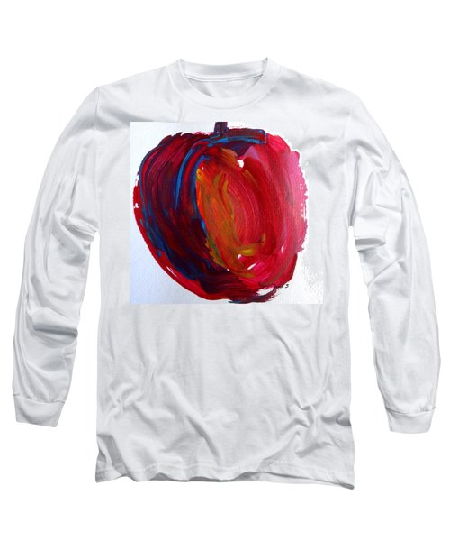 Apple Long Sleeve T-Shirt by Fred Wilson