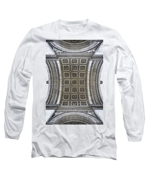 Arc De Triomphe Detail Long Sleeve T-Shirt