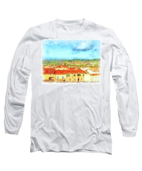 Arzachena Landscape Long Sleeve T-Shirt