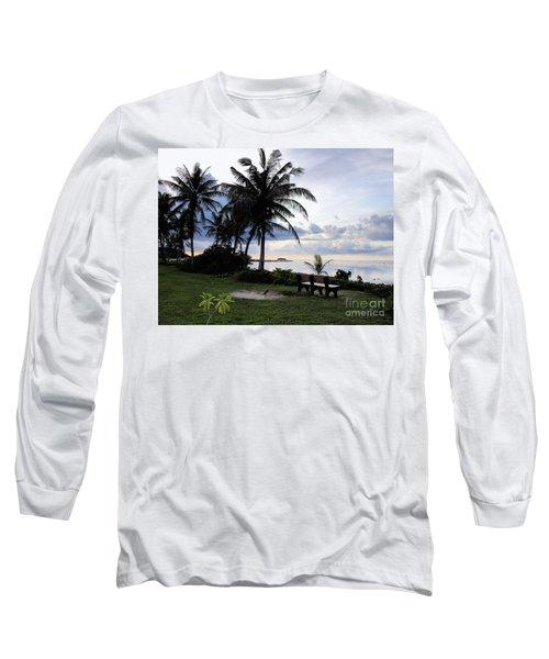 Asan Beach Guam Long Sleeve T-Shirt