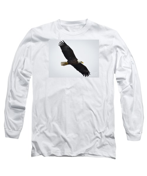 Long Sleeve T-Shirt featuring the photograph Bald Eagle by Ricky L Jones