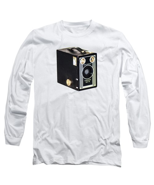 Long Sleeve T-Shirt featuring the photograph Brownie Target Six-16 by Bill Cannon