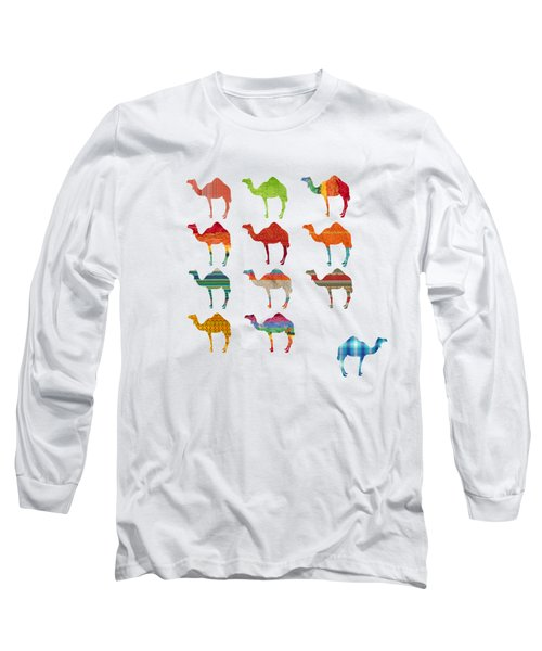 Camels Long Sleeve T-Shirt by Art Spectrum