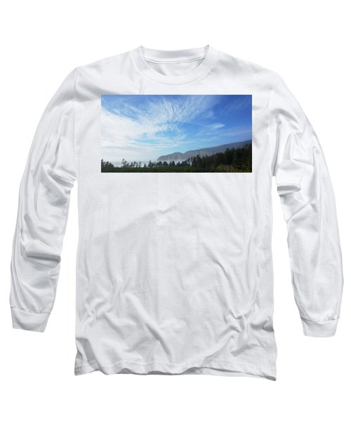 Long Sleeve T-Shirt featuring the photograph Cape Lookout by Angi Parks