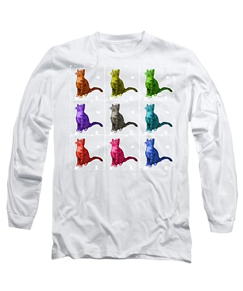 Cat Art - 3771 Bb Long Sleeve T-Shirt