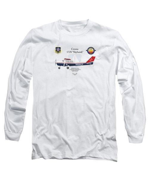 Cessna 172s Skyhawk Long Sleeve T-Shirt