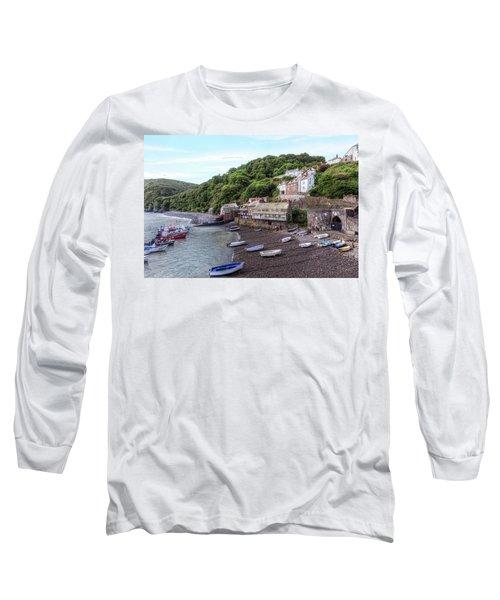 Clovelly - England Long Sleeve T-Shirt