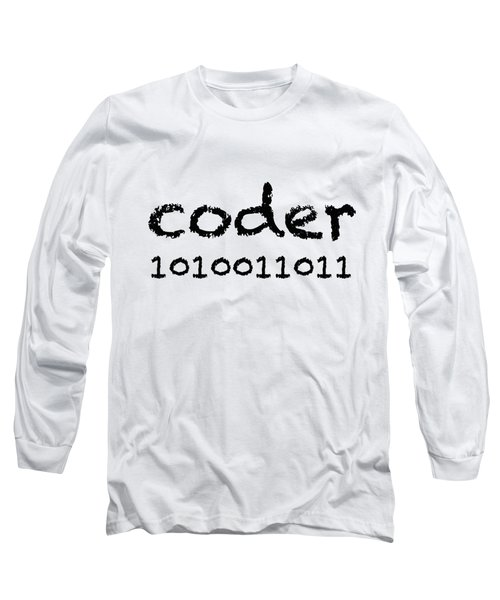 Coder Long Sleeve T-Shirt