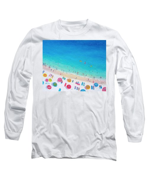 Colors Of The Beach Long Sleeve T-Shirt by Jan Matson