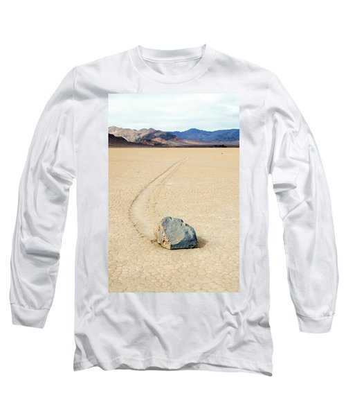 Death Valley Racetrack Long Sleeve T-Shirt by Breck Bartholomew