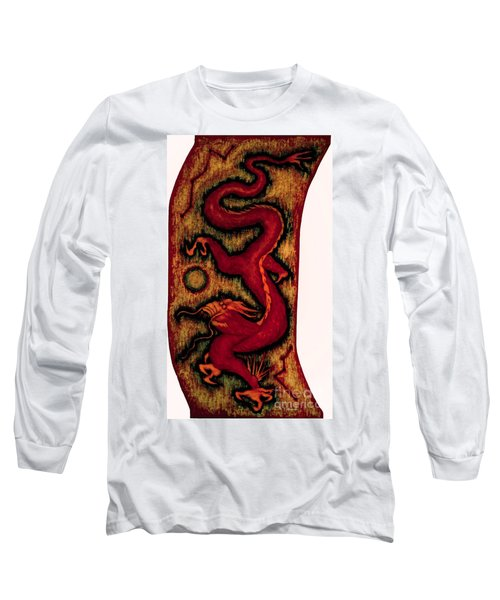 Dragon Long Sleeve T-Shirt by Fei A