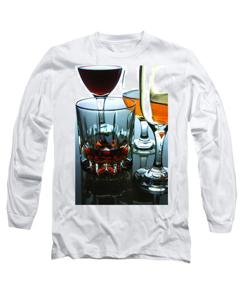 Drinks Long Sleeve T-Shirt