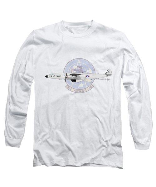 Ec-121t Constellation Long Sleeve T-Shirt by Arthur Eggers