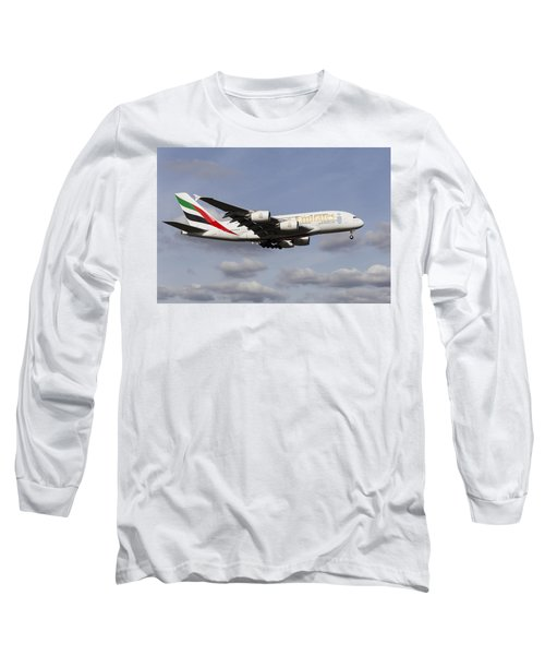 Emirates A380 Airbus Long Sleeve T-Shirt