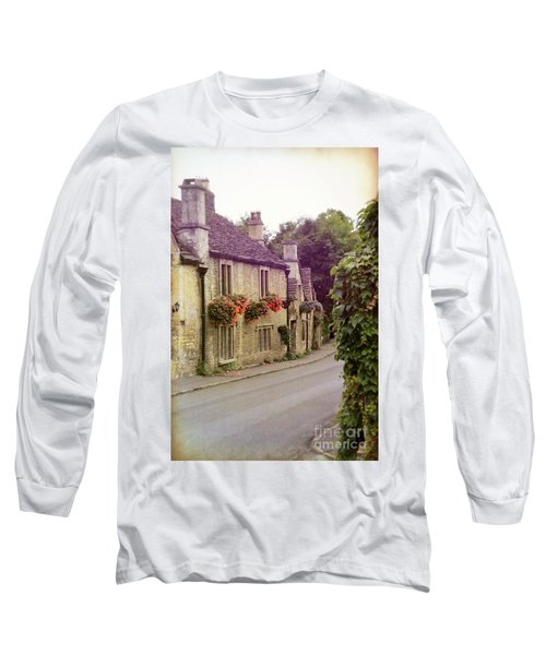 Long Sleeve T-Shirt featuring the photograph English Village by Jill Battaglia