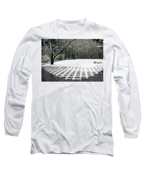 First Snow Fall Long Sleeve T-Shirt by Vladimir Kholostykh