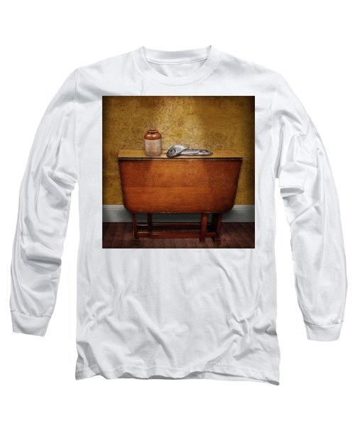 2 Fish And A Jug Long Sleeve T-Shirt