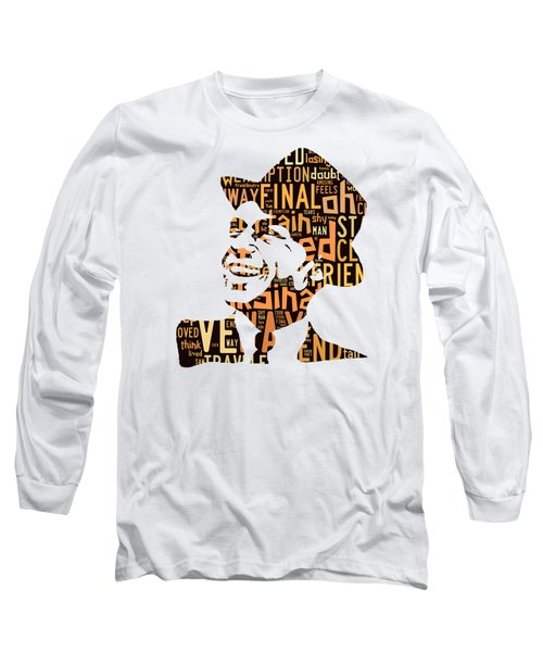 Frank Sinatra I Did It My Way Long Sleeve T-Shirt