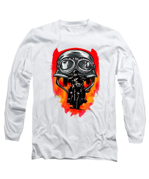 Long Sleeve T-Shirt featuring the painting Freedom by Andrzej Szczerski