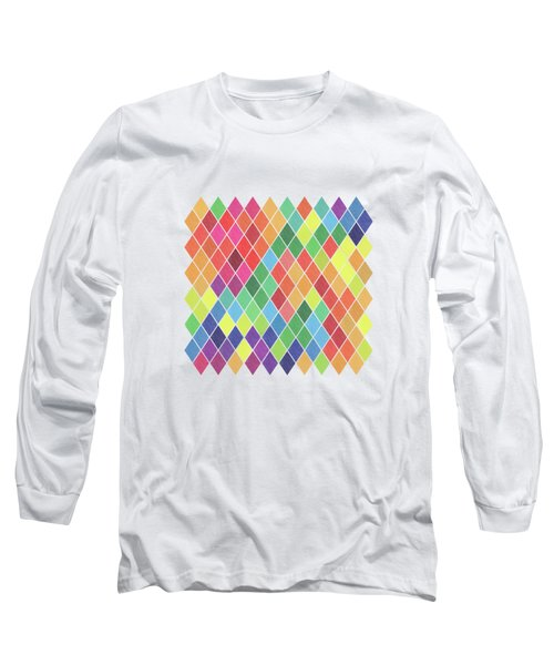 Geometric Background Long Sleeve T-Shirt