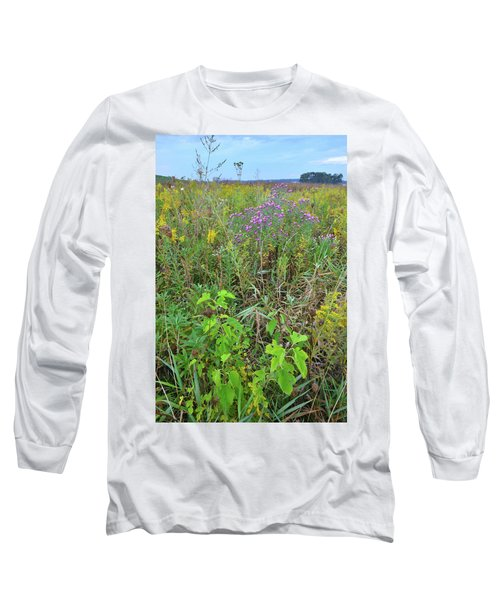 Glacial Park Native Prairie Long Sleeve T-Shirt