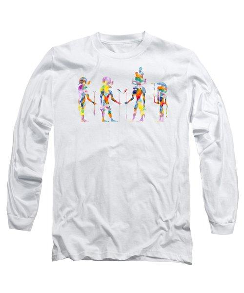 Gods And Goddess Of Ancient Egypt Long Sleeve T-Shirt