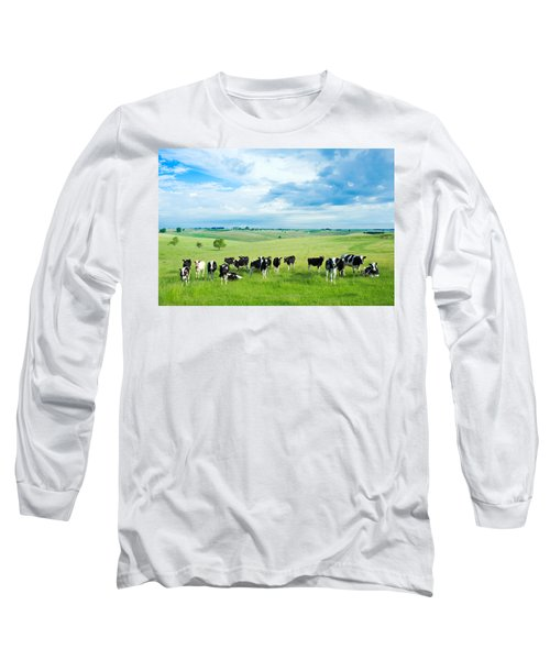 Happy Cows Long Sleeve T-Shirt