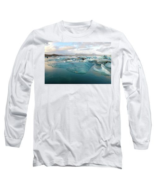 Jokulsarlon The Glacier Lagoon, Iceland 2 Long Sleeve T-Shirt