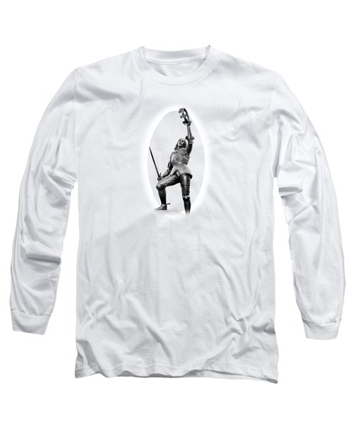King Richard The Third Long Sleeve T-Shirt by Linsey Williams