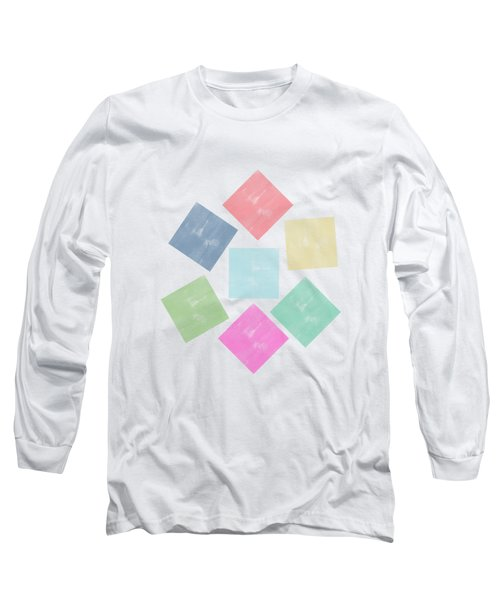 Lovely Geometric Background Long Sleeve T-Shirt