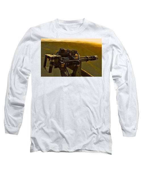 Machine Gun Long Sleeve T-Shirt