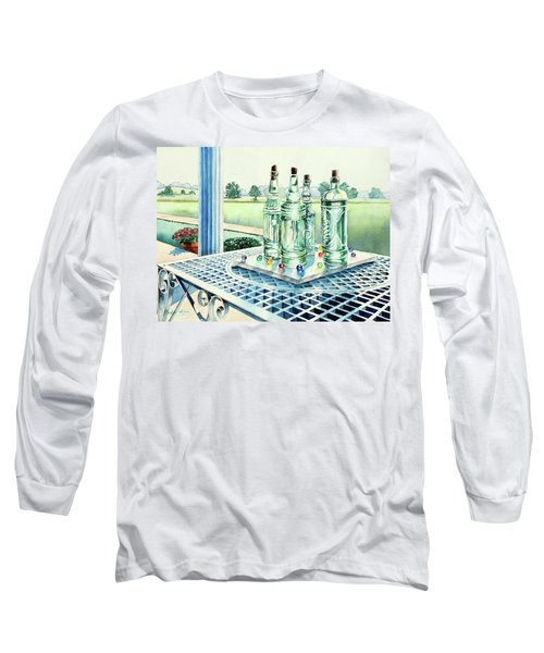 Marbles On Marble Long Sleeve T-Shirt