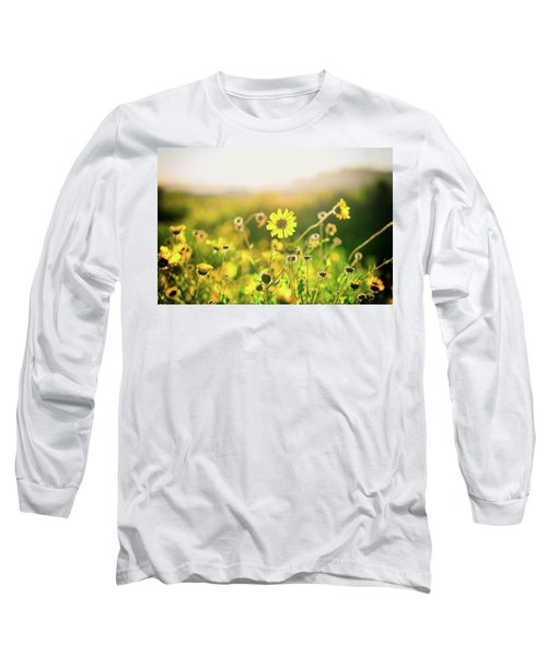 Nature's Smile Series Long Sleeve T-Shirt by Joseph S Giacalone