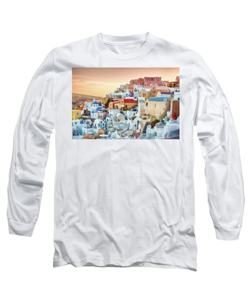 Oia, Santorini - Greece Long Sleeve T-Shirt