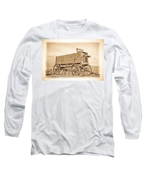 Old West Wagon  Long Sleeve T-Shirt