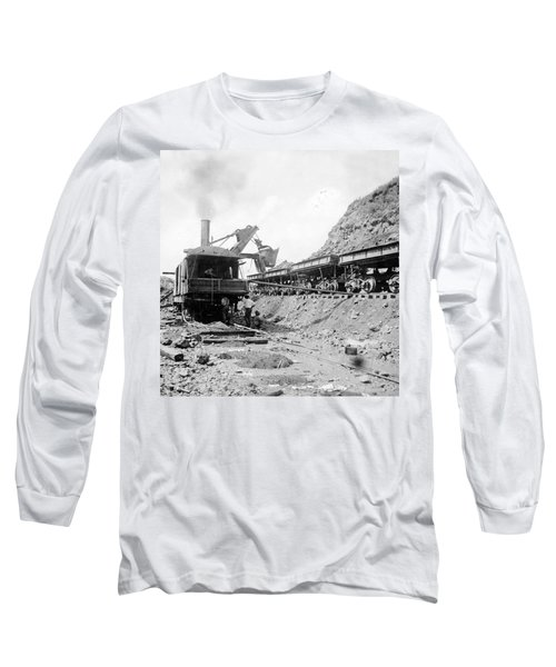 Panama Canal - Construction - C 1910 Long Sleeve T-Shirt by International  Images